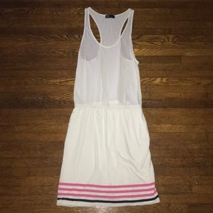 GAP White Racerback Dress